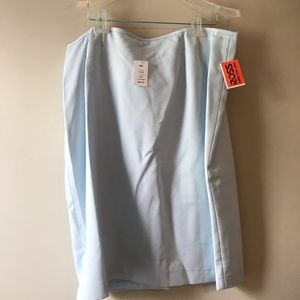 NYP Skirts - Light Blue Suit Set